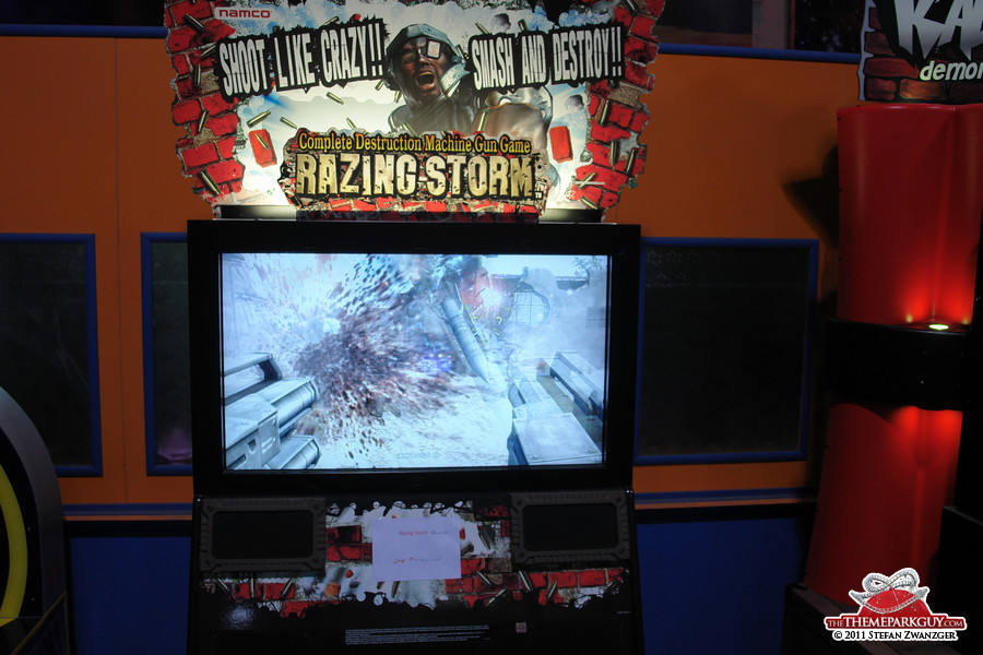 Or play the 'Complete Destruction Machine Gun Game', made in Japan