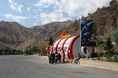 Up in the mountains: 5-D cinema in an unanticipated location