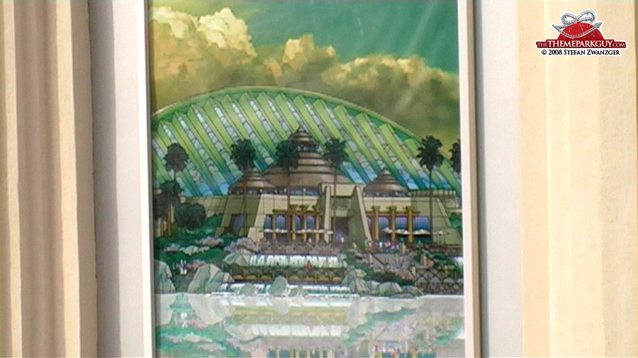 Jurassic Park Rapids Adventure building