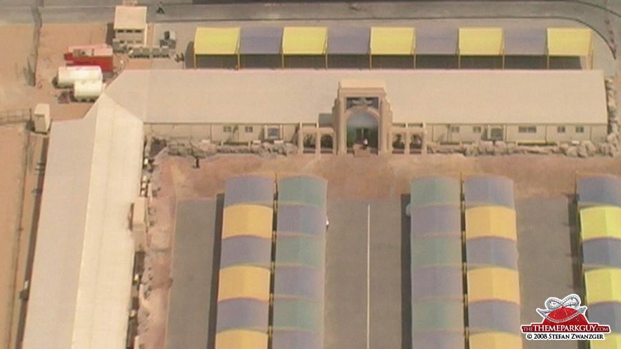 Universal Studios Dubai site office