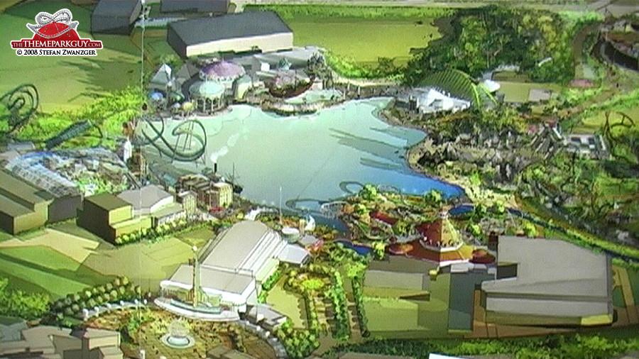 Universal Studios Dubailand artwork