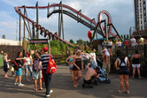 Thorpe Park visitors