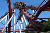 New thrill roller coaster