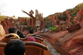 Inside Splash Mountain