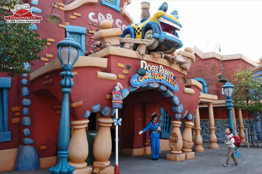 Roger Rabbit's Car Toon Spin ride