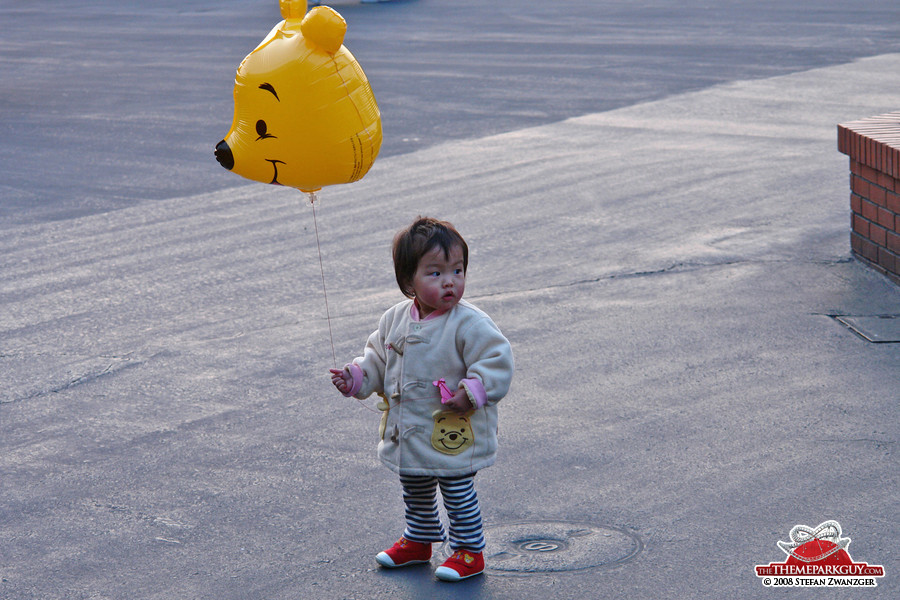 The child and the balloon