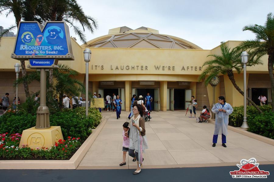 Tokyo Disneyland's Monsters Ride has opened