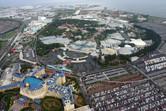 Tokyo Disney Resort from above