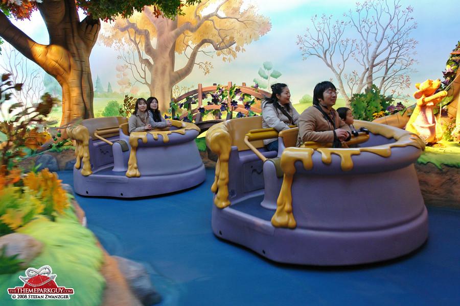 Tokyo Disneyland's legendary trackless Hunny Hunt ride