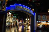 Universal Studios-inspired facades