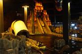 Mayan-themed flume ride