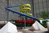 Slide tower from below