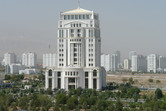 The city of white marble buildings