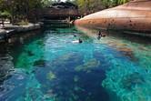 Artificial snorkeling reef