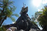 The landmark of Typhoon Lagoon up close