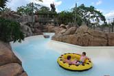 Scenic family rafting slide