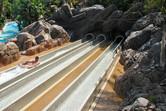 The end of a speedy body slide