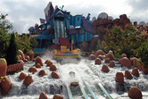 One of the wettest flume rides on earth