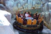 Popeye-themed river rapids ride