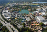 Universal's Islands of Adventure aerial