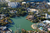 Islands of Adventure from above