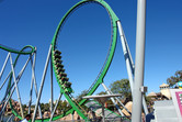 Hulk coaster loop