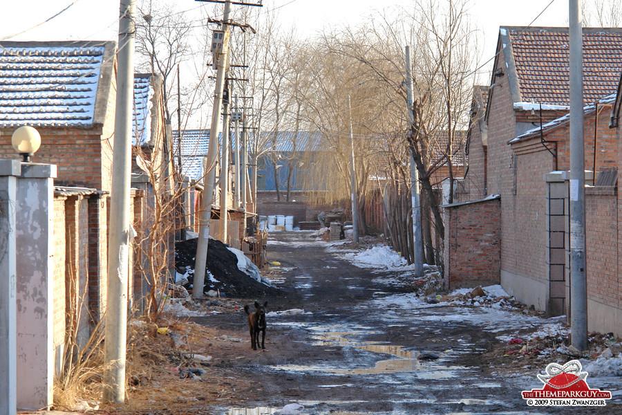 Village in Beijing's Tongzhou suburb