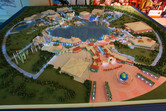 The Dubailand sales center exhibits it