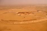 Universal Studios Dubailand aerial view