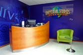 Universal Studios Dubailand site office lobby