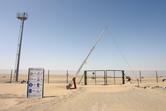 Universal Studios Dubailand construction site gate