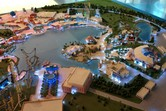 Universal Studios Dubailand model, different angle