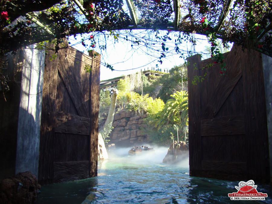 Inside Jurassic Park