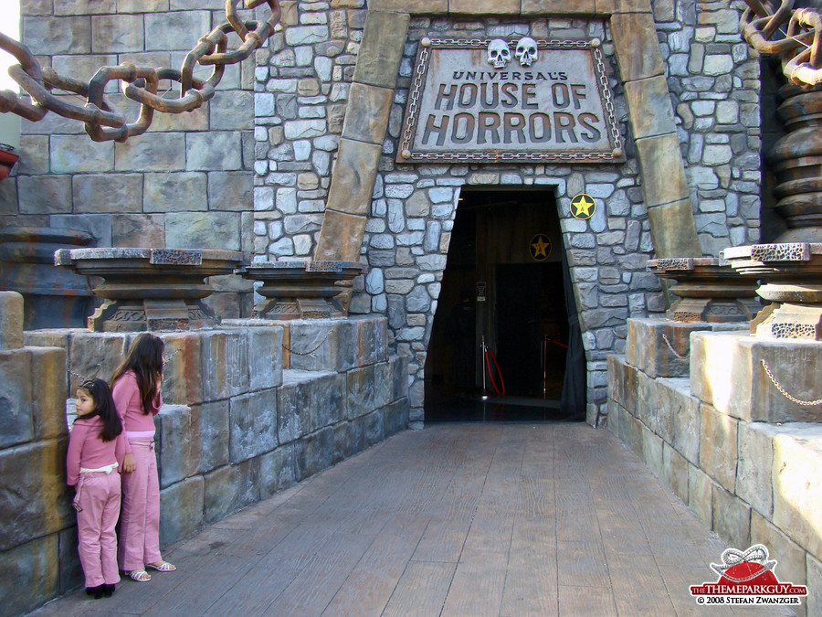 House of Horrors, a walk-through ghost house