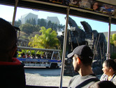 Update 2013: entering the King Kong cave, a new addition to the Studio Tram Tour