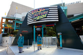 Back to the Future ride entrance