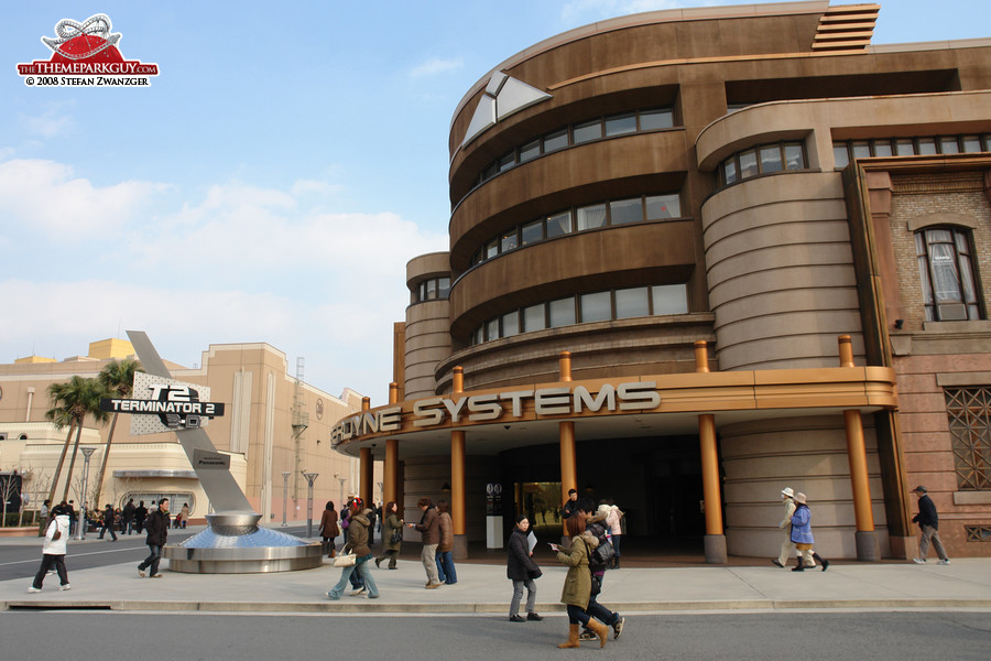 Terminator D Cinema Building Big on Famous Car Scene