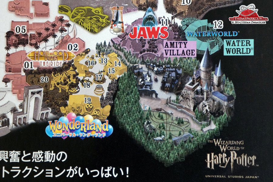 Universal studios japan photos by the theme park guy the universal studios japan map already features harry potter gumiabroncs Images