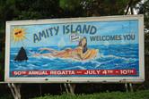 Amity Island billboard