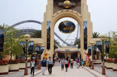 Universal Osaka entrance, celebrating Harry Potter's arrival