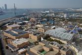Universal Studios Japan aerial view