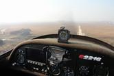 Approaching Songsang runway