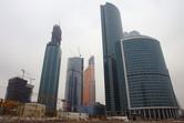 Skyscrapers under construction