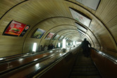 Getting into the Moscow Metro