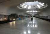 Annino metro station in Moscow's southern outskirts