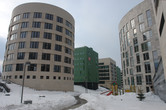 Apartments under construction at Skolkovo