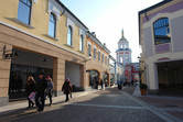 Newly-opened outlet village