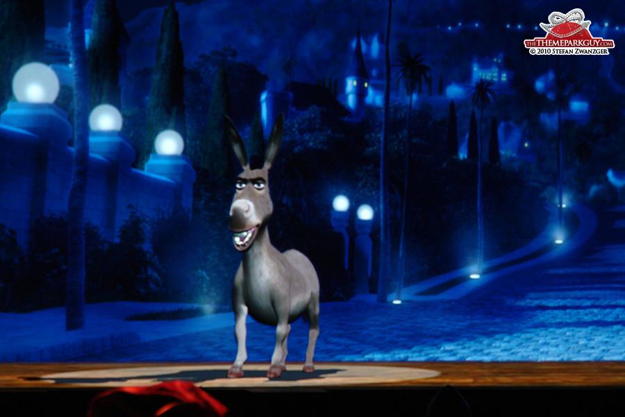 Donkey close