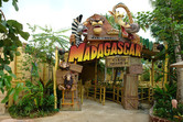 Madagascar entrance - scheduled to open in summer 2010