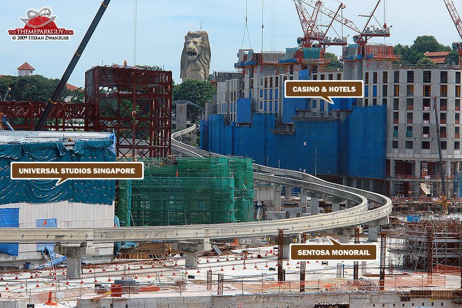 Resorts World Sentosa, May 2009